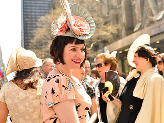 Easter in nyc guide including easter events and brunch deals easter parade and bonnet festival 2011 negle Image collections