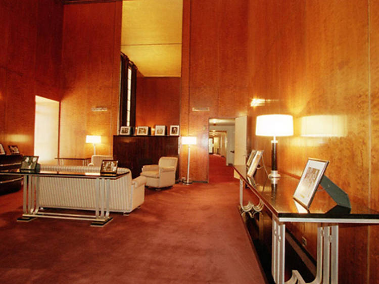 See a swanky apartment hidden inside Radio City Music Hall