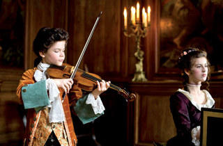 David Moreau and Marie Feret in Mozart's Sister