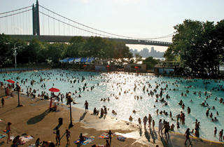 Cool off in the city's pools; including Astoria Pool