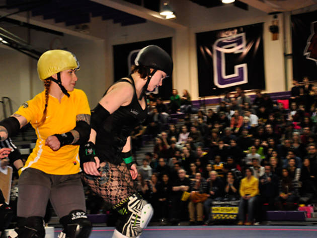 Toughen up at Gotham Girls Roller Derby