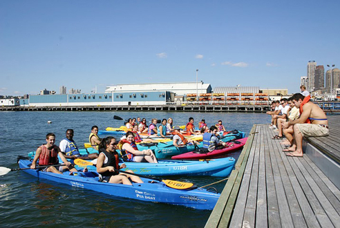 Go kayaking from the Downtown Boathouse