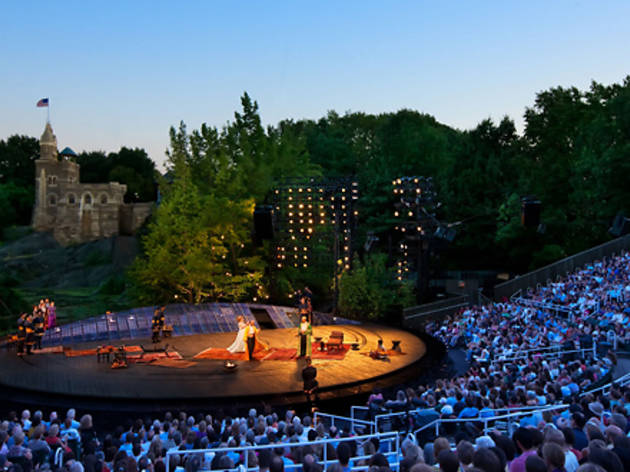 Queue up for free Shakespeare in Central Park