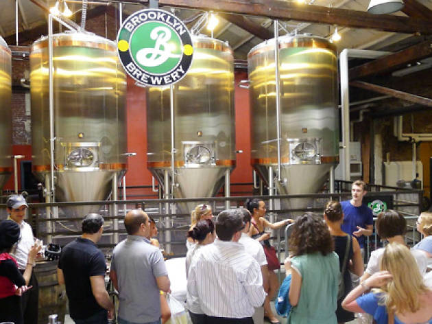 Tour the Brooklyn Brewery