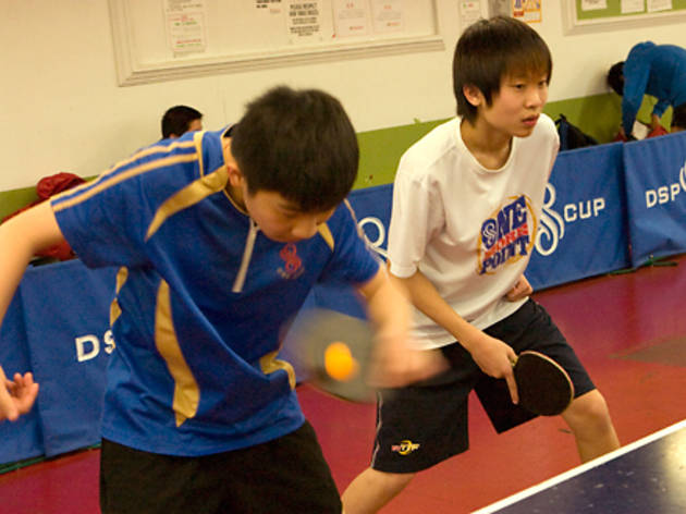 Table Tennis (Photograph: Tony Hung)