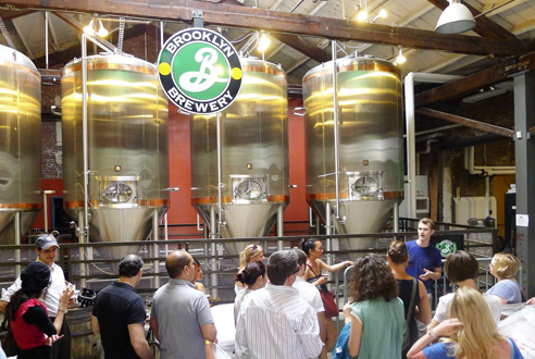 Weeknight tour and tasting at Brooklyn Brewery