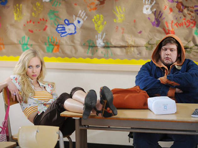 Juno Temple and Jeremy Dozier in Dirty Girl