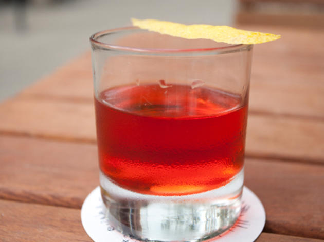 Applejack Sazerac at Prime Meats. Featured in Ten great drinks for $10 or less.