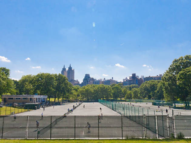 Where to play tennis (2013)