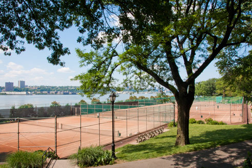 96th Street Clay Tennis Courts