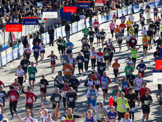Where to watch the NYC Marathon (2011)