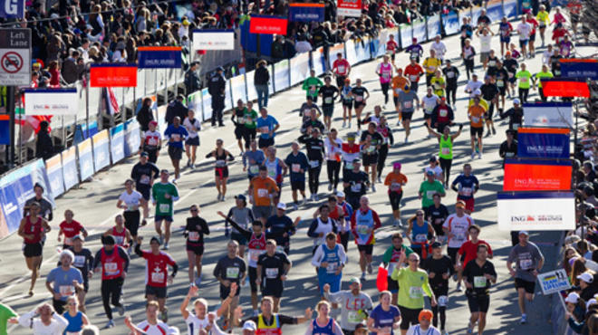 Where to watch the NYC Marathon (2011)