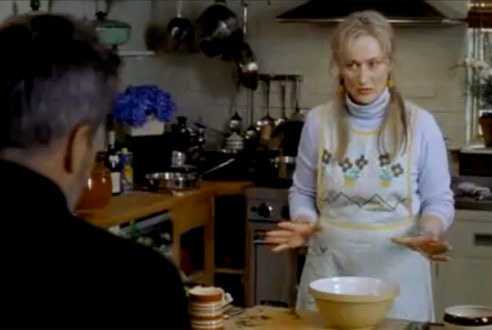The Hours (2002): Separating eggs