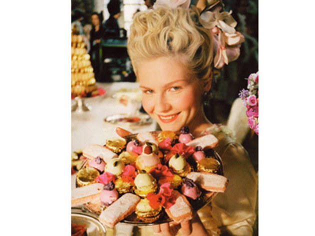 Marie Antoinette (2006): Ladurée desserts
