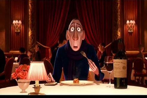 Ratatouille (2007): Anton Ego tastes the ratatouille