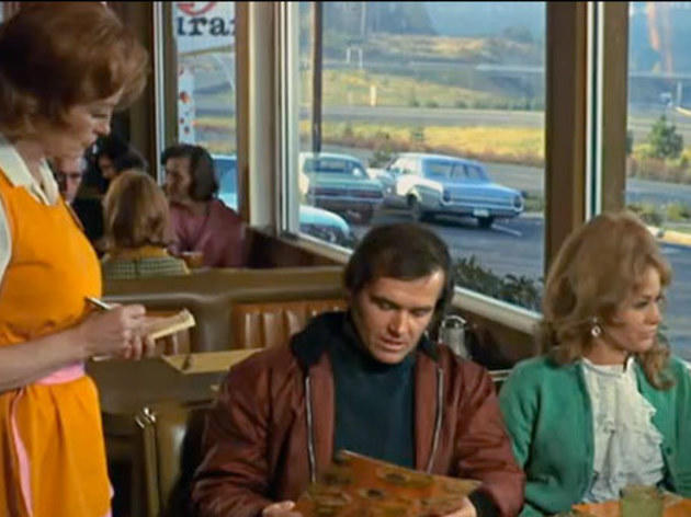Five Easy Pieces (1970): A side order of toast