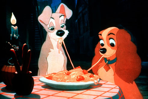 Lady and the Tramp (1955): Spaghetti