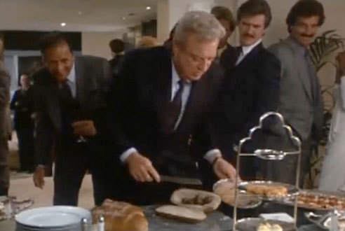 Back to School (1986): Rodney Dangerfield's hors d'oeuvres sandwich