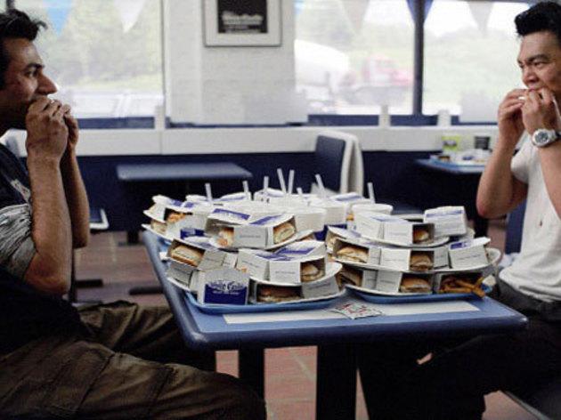 Harold & Kumar Go to White Castle (2004): Climax scene