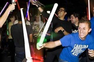 Free lightsaber battle in Washington Square Park this Saturday