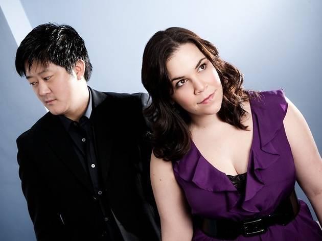 Lindsay Mendez and Marco Paguia