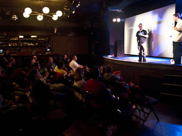 See great stand-up at Comedy Night at the Knit