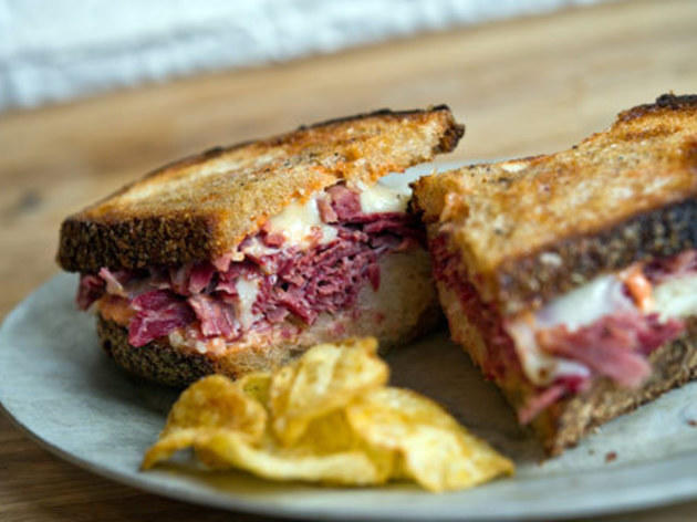 The Reuben at Court Street Grocers