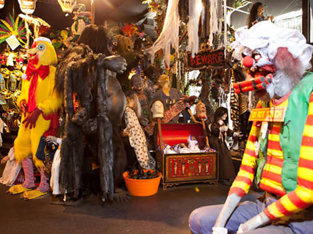 Best Halloween costume rental stores in New York City