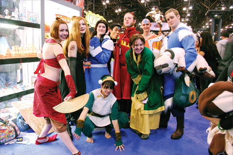 Commune with other geeks during New York Comic Con