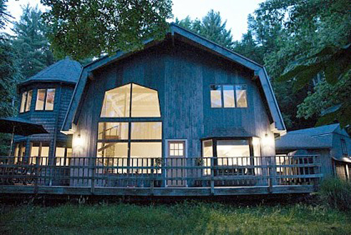 Four-bedroom house in Woodstock, NY