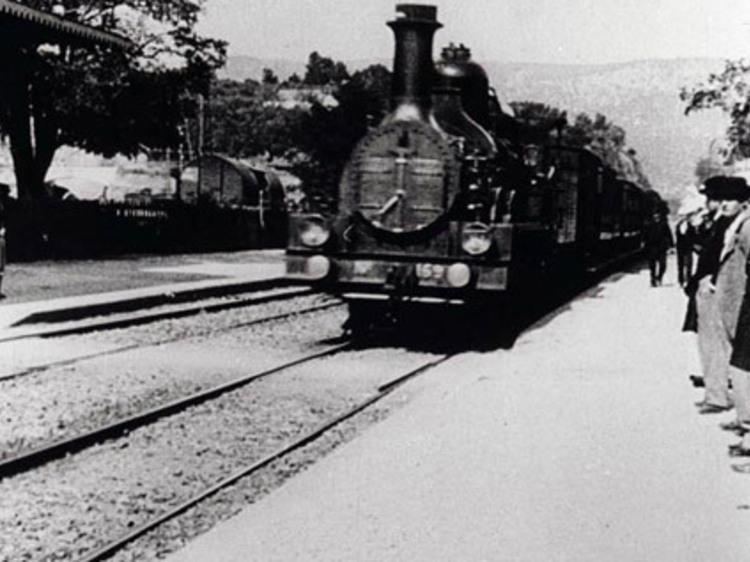 """""""Arrival of a Train at La Ciotat"""" (1896)"""