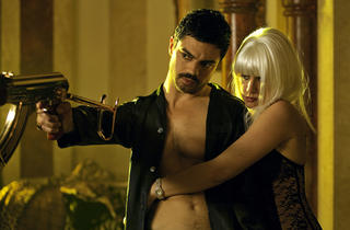Dominic Cooper and Ludivine Sagnier in The Devil's Double.