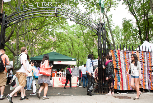 Shop (and snack) at the Hester Street Fair