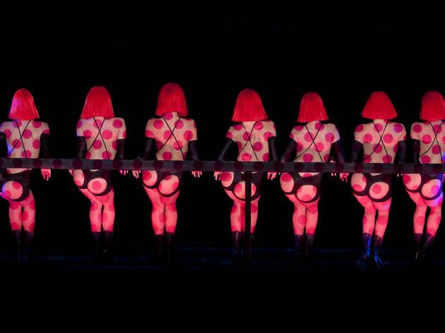Dancers shake their derrires in Crazy Horse