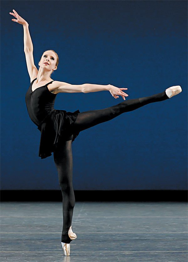 New York City Ballet principal Sterling Worth (2008)