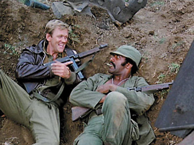 IN THE TRENCHES Svenson and Williamson bond in The Inglorious Bastards