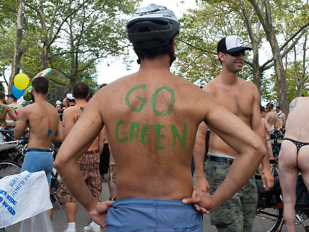 World Naked Bike Ride NYC 2011 (NSFW)