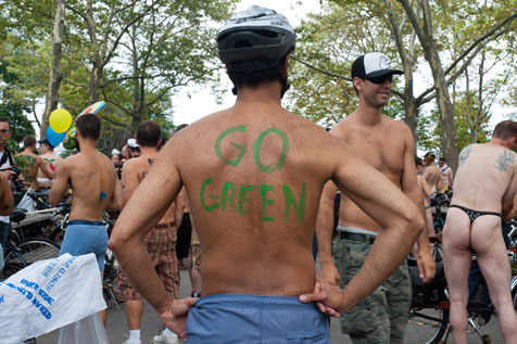 Photos: World Naked Bike Ride NYC 2011 (NSFW)