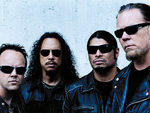 MAGNETIC PERSONALITIES Lars Ulrich, Kirk Hammett, Robert Trujillo and James Hetfeld, from left, mean business on their new CD.