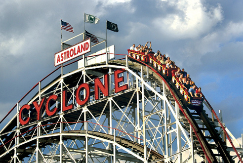 Get taken for a free ride on opening day at Coney Island