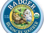 Badger certified-organic Headache Soother balm, $8, at Elm Health, 56 Seventh Ave at 14th St (212-255-6300, elmhealth.net)
