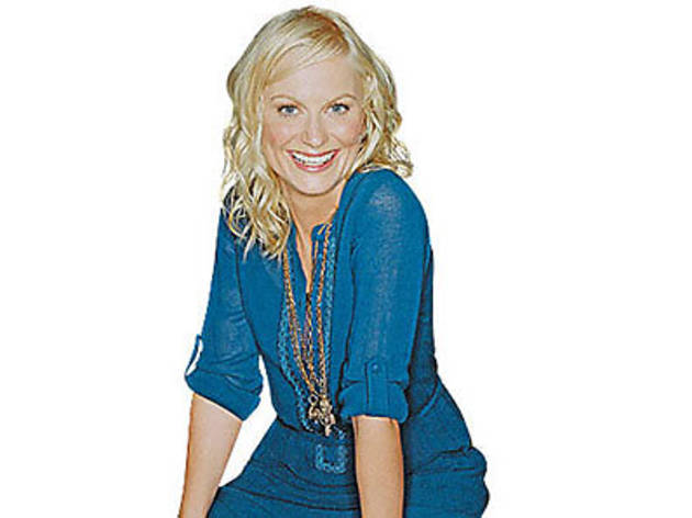 Amy Poehler in conversation with Caryn James