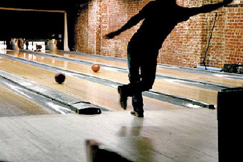 Go bowling at The Gutter
