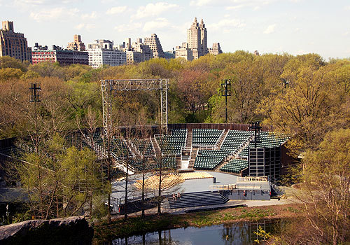 Announcing the new Shakespeare in the Park productions for this summer