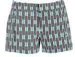 Gap Geometric shorts, $20, at Gap, locations throughout the city; visit gap.com
