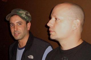 """Darshan Jesrani and Dennis """"Citizen"""" Kane"""