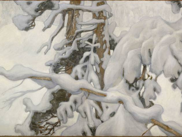'Hiver [Talvi]', 1902 (Étude pour les fresques du mausolée de Sigrid Jusélius (1887-1898) à Pori / © Finnish National Gallery / Central Art Archives / Photo Jukka Romu)