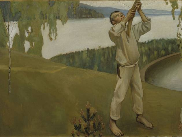 'Printemps [Kevät]', 1903 (Étude pour les fresques du mausolée de Sigrid Jusélius (1887-1898) à Pori / © Finnish National Gallery / Central Art Archives / Photo Hannu Aaltonen)