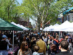 1. Shop and eat outside at Hester Street Fair