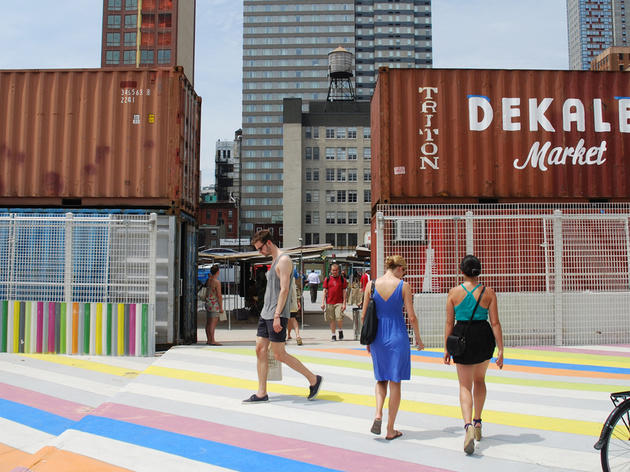 Party at Dekalb Market